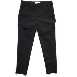 Everlane Black Slim Wool Trouser Pants